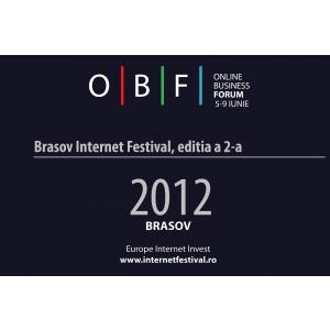 Brasov Internet Festival 2012, inca 10 zile la super-pret !