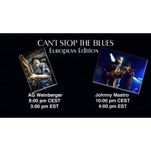 AG Weinberger la al treilea concert pe platforma Can't Stop The Blues