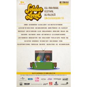 """Donează către Dăruiește Viață și asigură-ți """"locul"""" la SolidarLocal, cel  mai mare festival de muzică din sufrageria ta!"""