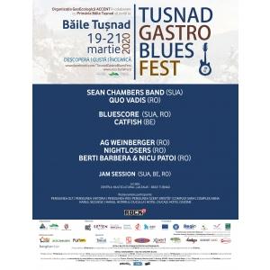 Tușnad Gastro Blues Festival. Program și pensiuni participante