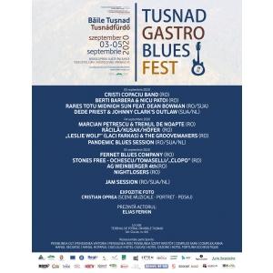 TUȘNADGASTRO BLUES FEST, 3-5 Septembrie 2020 - Program și detalii