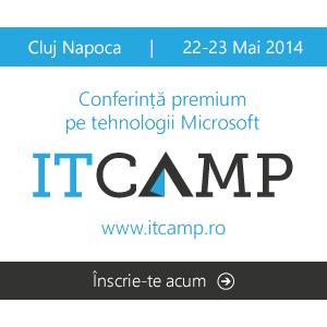 ITCamp 2014 | Conferinţă premium pe tehnologii Microsoft – editia a IV-a