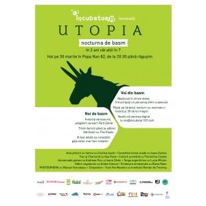 nocturna. Afis oficial Utopia