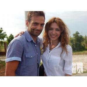 Vizi la PRO TV. Alin Brancu si Gabriela Marin sunt protagonisti ai serialului