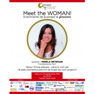 mirela p. Meet the WOMAN! Mirela Retegan