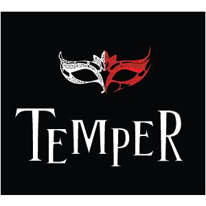 bijuterii contemporane. logo TEMPER