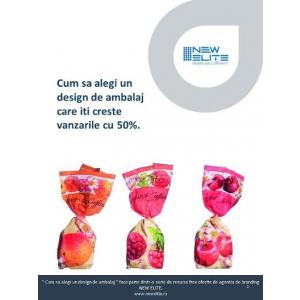 """design de ambalaj.  Cum sa alegi un design de ambalaj care iti creste vanzarile cu 50%""""- Free download de pe siteul NEW ELITE"""