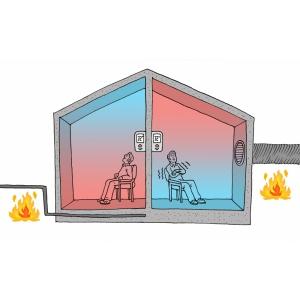 Sistemul de încălzire în pardoseală schimbă conturul locuințelor moderne