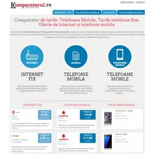 internet marketing. Komparatorul.ro online : Comparator de tarife pentru servicii de internet, telefonie fixa si mobila, televiziune