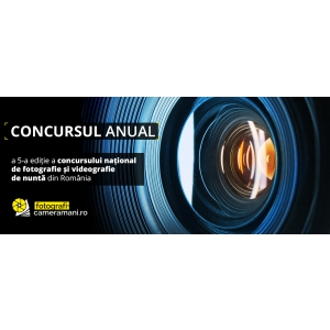 videografie. Concursul anual de fotografie și videografie de nuntă