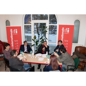 RFI. Intalnire RFI - Carrefour de l'Europe