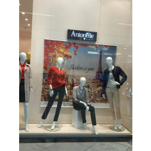 moda masculina. Vitrina f/w 2015 magazin AntonelleParis din Afi Palace Cotroceni