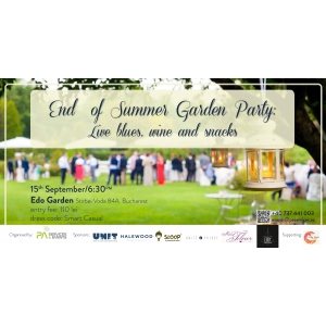 End of Summer Garden Party! Live music, wine and snacks