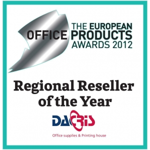 Regional Reseller of the Year. Dacris a castigat premiul Regional Reseller of the Year in Europa