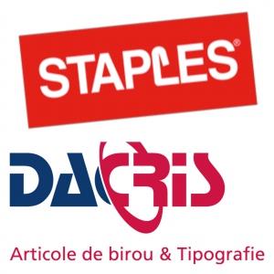 Staples, cel mai mare furnizor de articole de birotică din lume, este acum reprezentat în România de Dacris