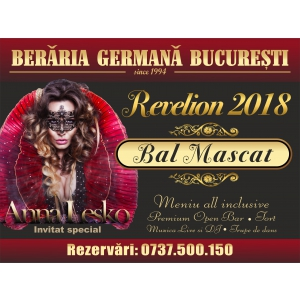 berarie. Revelion 2018 la Beraria Germana Bucuresti