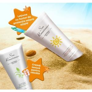 sun renaissance. Vara aceasta, noile creme Sun Renaissance iti ofera  toata protectia de care ai nevoie!