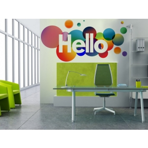 autocolante. Sticker decorativ office