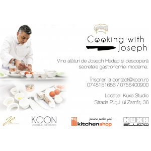 chef joseph hadad. Cooking with JOSEPH