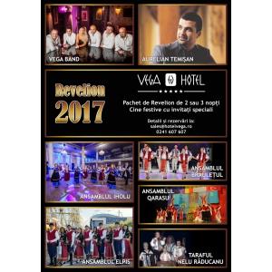 PetrecetiRevelionul 2017 la Hotel Vega 5*