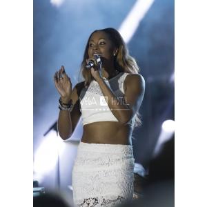 Shontelle a sustinut un concert-surpriza in Mamaia, la petrecerea aniversara a hotelului Vega