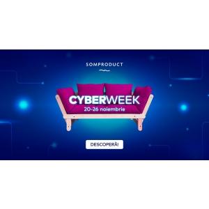 Cyber Week- Reducerile continuă la SomProduct!
