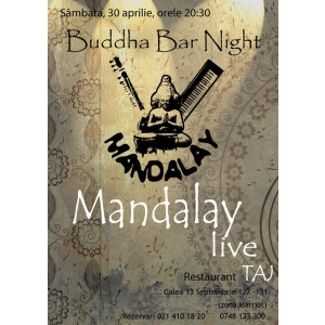 NIGHT. Budha Bar Night la Taj Restaurant…Revine!