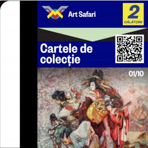 Art Safari si Metrorex lanseaza prima colectie de arta pe cartele de metrou