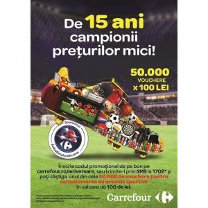 Carrefour, de 15 ani este campionul prețurilor mici în România