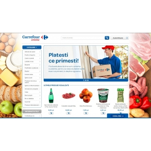 carrefour online. www.carrefour-online.ro