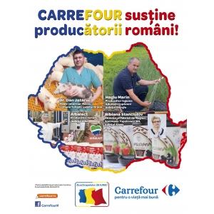 carrefour. Carrefour Romania sustine producatorii romani!