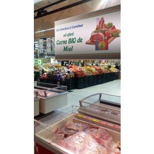 miel. Premieră în România, carne de miel BIO românească, în exclusivitate în hipermarketurile Carrefour din București, Brașov și Ploiești