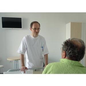 ovidius clinical hospital. Conf. Dr. Eugen Dumitru, șeful Departamentului de Gastroenterologie  de la Ovidius Clinical Hospital.