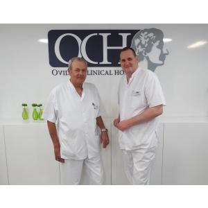 dr  eugen rubeli. Dr. Eugen Rubeli, medic primar ortopedie- traumatologie, şeful secţiei de ortopedie din cadrul OCH, şi Dr. Toma Cucu, medic primar ortopedie- traumatologie, şeful departamentului de artroscopie OCH