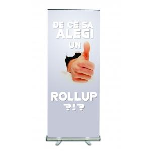 Solutie ieftina si rapida. De ce sa alegi un roll-up?