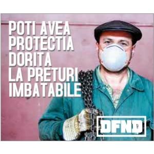 viroza respiratorie. Masti de protectie impotriva particulelor - DFND