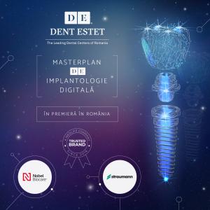 dent estet. Masterplan de Implantologie Digitala