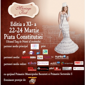 Targul National de Nunti. Mariage Fest