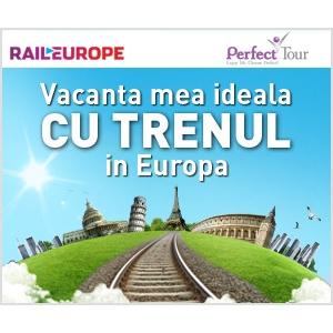 Perfect Tour şi Rail Europe trimit un blogger cu trenul în Europa
