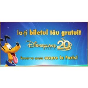 Românii merg gratuit la Disneyland Paris