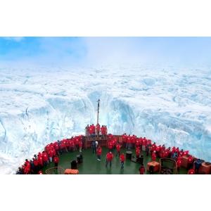 """nord. """"50 Years of Victory"""" este cel mai puternic spărgător de gheaţă din lume."""