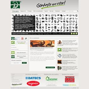 imprimante fiscale. Preview al noului site www.danubius-exim.ro