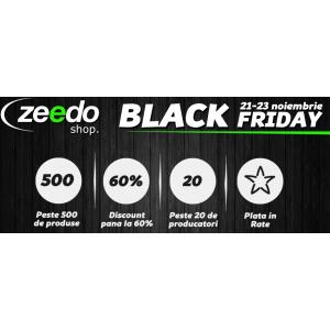 zeedoshop. ZeedoShop.ro organizeaza Black Friday pe 21-23 Noiembrie