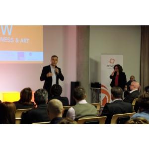 Roland Teufel, Partener Ensight Management Consulting in deschiderea evenimentului