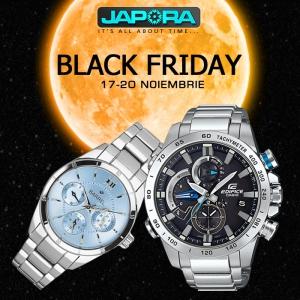 JAPORA - Anunta startul Black Friday 2017 in noaptea de joi 16 noiembrie la ora 23:59