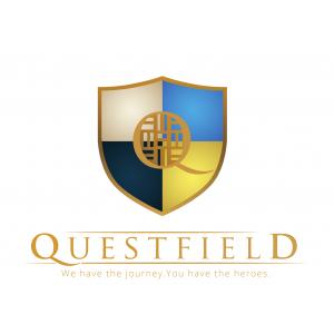 concept educațional unic. Sigla Questfield