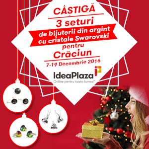Concurs: Castiga 3 Seturi de Bijuterii cu Cristale Swarovski pentru Craciun