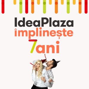 IdeaPlaza.ro implineste 7 ani si ofera 7% discount la orice comanda