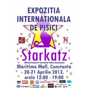 starkatz. Expozitia Internationala de pisici de rasa Starkatz / Cat-Stanta la Maritimo mall, Constanta