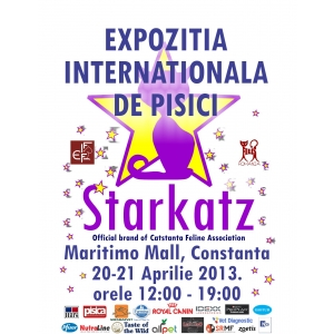 asociatia felina cat-stanta. Expozitia Internationala de pisici de rasa Starkatz / Cat-Stanta la Maritimo mall, Constanta